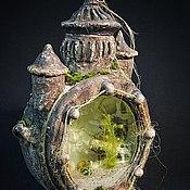 Для дома и интерьера ручной работы. Ярмарка Мастеров - ручная работа Аквариум с затонувшей Атлантиды. Handmade.