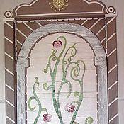 """Для дома и интерьера ручной работы. Ярмарка Мастеров - ручная работа дверь """"дерево жизни"""". Handmade."""