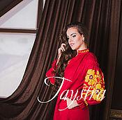 Одежда ручной работы. Ярмарка Мастеров - ручная работа Платье бохо женское вышитое, лен, бохо стиль , Bohemian,. Handmade.