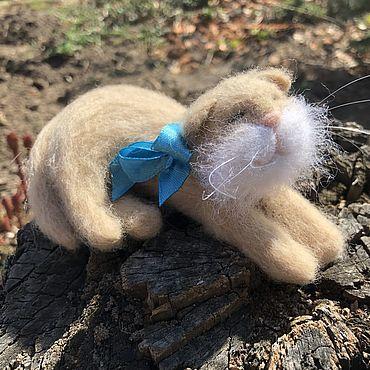 Кот Катык, сухое валяние