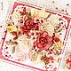 Открытка в виде коробочки с цветами (открытка для женщины). Открытки. Юля Шутегова (elfulka). Интернет-магазин Ярмарка Мастеров.  Фото №2