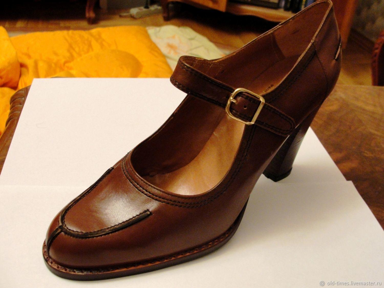 4f217c69e Винтажная обувь. Ярмарка Мастеров - ручная работа. Купить Винтаж: Туфли  женские новые ' ...