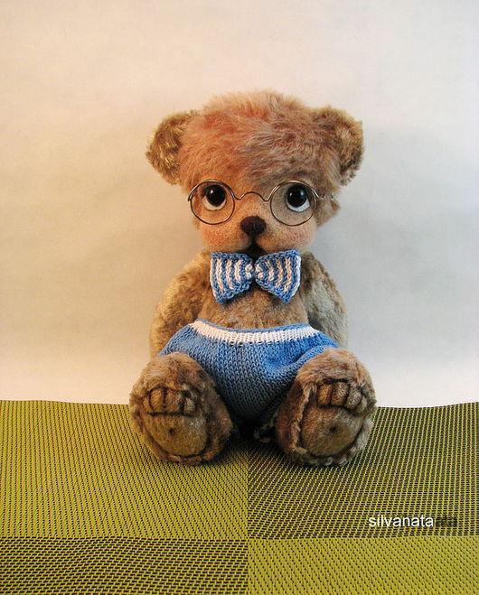Мишки Тедди ручной работы. Ярмарка Мастеров - ручная работа. Купить Мишка Тедди Маусик. Handmade. Мишка, мишка в очках