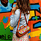 Женские сумки ручной работы. Заказать Сумочка-батончик из натуральной кожи. LITTLE BIRDS изделия из кожи(Дарья). Ярмарка Мастеров.