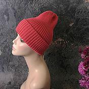 Аксессуары handmade. Livemaster - original item Women`s knitted hat, beanie, hat, pumpkin. Handmade.
