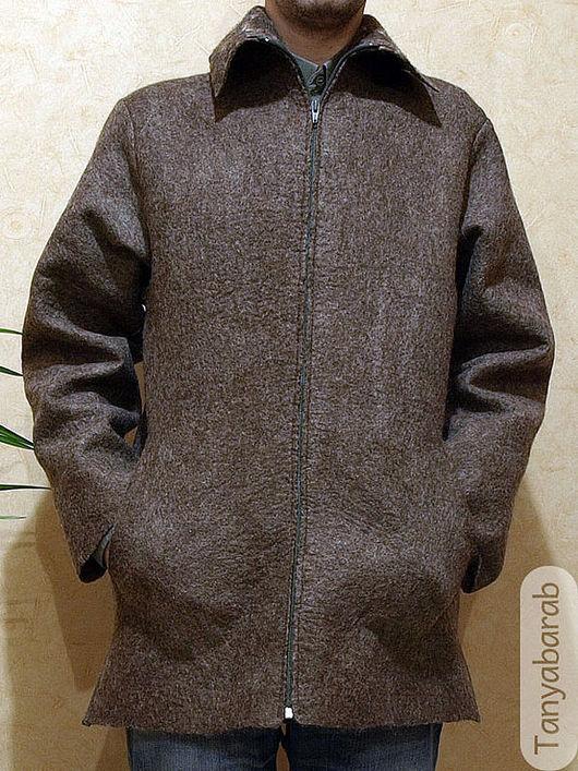 """Верхняя одежда ручной работы. Ярмарка Мастеров - ручная работа. Купить Куртка """"Межсезонье"""". Handmade. Куртка из войлока, мужская куртка"""