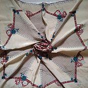 Винтаж handmade. Livemaster - original item The handkerchief of silk, the brand rare,vintage Germany. Handmade.