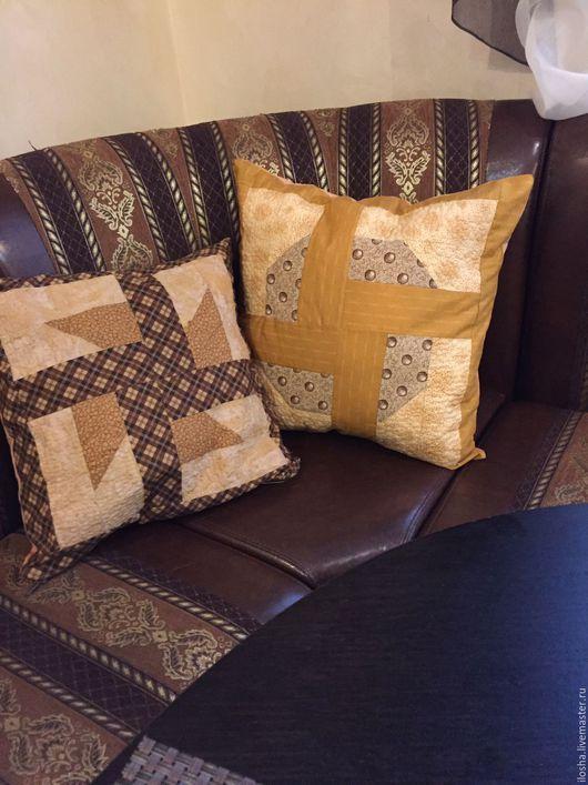 Текстиль, ковры ручной работы. Ярмарка Мастеров - ручная работа. Купить Интерьерные подушки. Handmade. Коричневый, интерьерные подушки