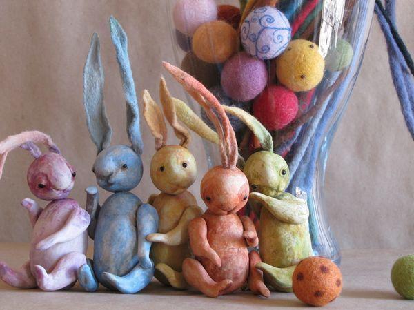 rabbits in eggs, Doll food, St. Petersburg,  Фото №1