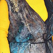 Одежда ручной работы. Ярмарка Мастеров - ручная работа Жилет валяный Неутомимая Маргарита. Handmade.