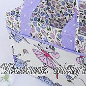 """Сумки ручной работы. Ярмарка Мастеров - ручная работа Сумки: Короб  для мелочей """"Мышки-балеринки"""". Handmade."""