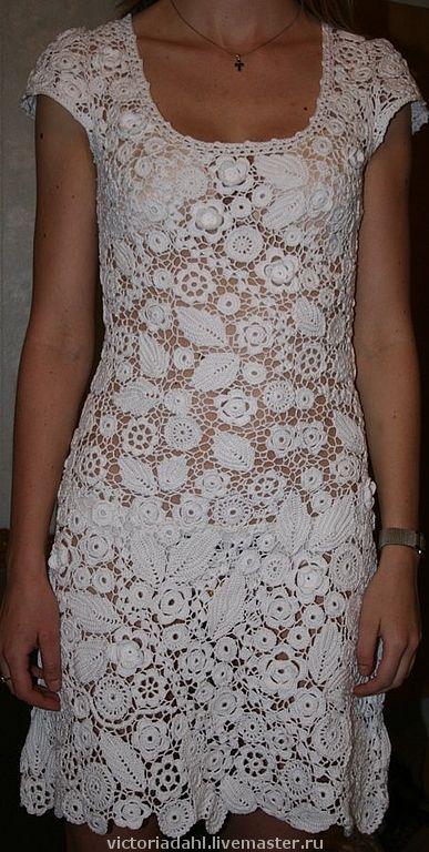 Платье из кружева мастер класс
