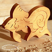 Puzzle handmade. Livemaster - original item Souvenirs and gifts from wood. Puzzles