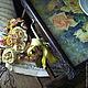 """Кухня ручной работы. Ярмарка Мастеров - ручная работа. Купить """"ЧАЙНЫЕ РОЗЫ"""" Большой столик-поднос для завтрака в постели.. Handmade."""