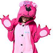 Одежда handmade. Livemaster - original item Costume kigurumi Pink Bear PINK BEAR KIGU. Handmade.