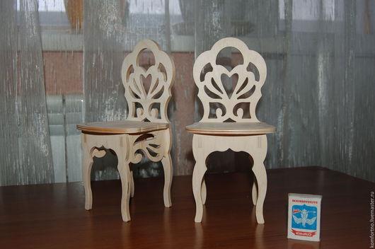 Кукольный стульчик.Заготовка для декупажа и росписи.234