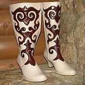 Обувь ручной работы. Ярмарка Мастеров - ручная работа Ичиги Весенние. Handmade.
