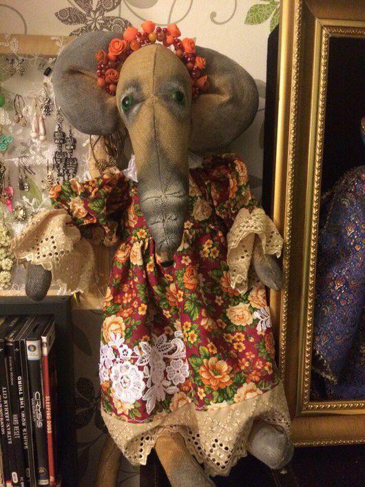 Игрушки животные, ручной работы. Ярмарка Мастеров - ручная работа. Купить Интерьерная мышь. Handmade. Текстильная игрушка, ткань для кукол