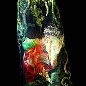 """Одежда ручной работы. Ярмарка Мастеров - ручная работа Комплект  войлочных полотен для пошива одежды.""""Как спят цветы"""". Handmade."""