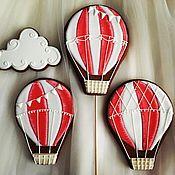 Сувениры и подарки ручной работы. Ярмарка Мастеров - ручная работа Пряник имбирный. Воздушный шар. Handmade.