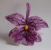 """Украшения ручной работы. Ярмарка Мастеров - ручная работа Орхидея """"Сиреневая мечта"""". Handmade."""