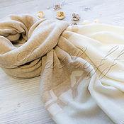 Аксессуары handmade. Livemaster - original item Cashmere Italian scarf made of Chanel Luxury fabric. Handmade.