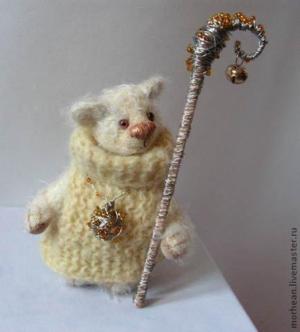 Мишки Тедди ручной работы. Ярмарка Мастеров - ручная работа. Купить Принцесса Пирлипат. Handmade. Бежевый, медвежонок, медведь, принцесса