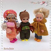 """Куклы и игрушки ручной работы. Ярмарка Мастеров - ручная работа Комплект """"Жёлудь"""" для пупса.. Handmade."""