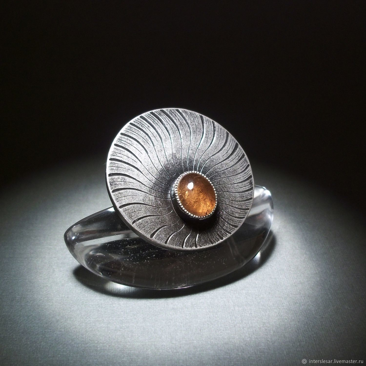 Ring: Tourmaline ring ' North wind', Rings, Moscow,  Фото №1