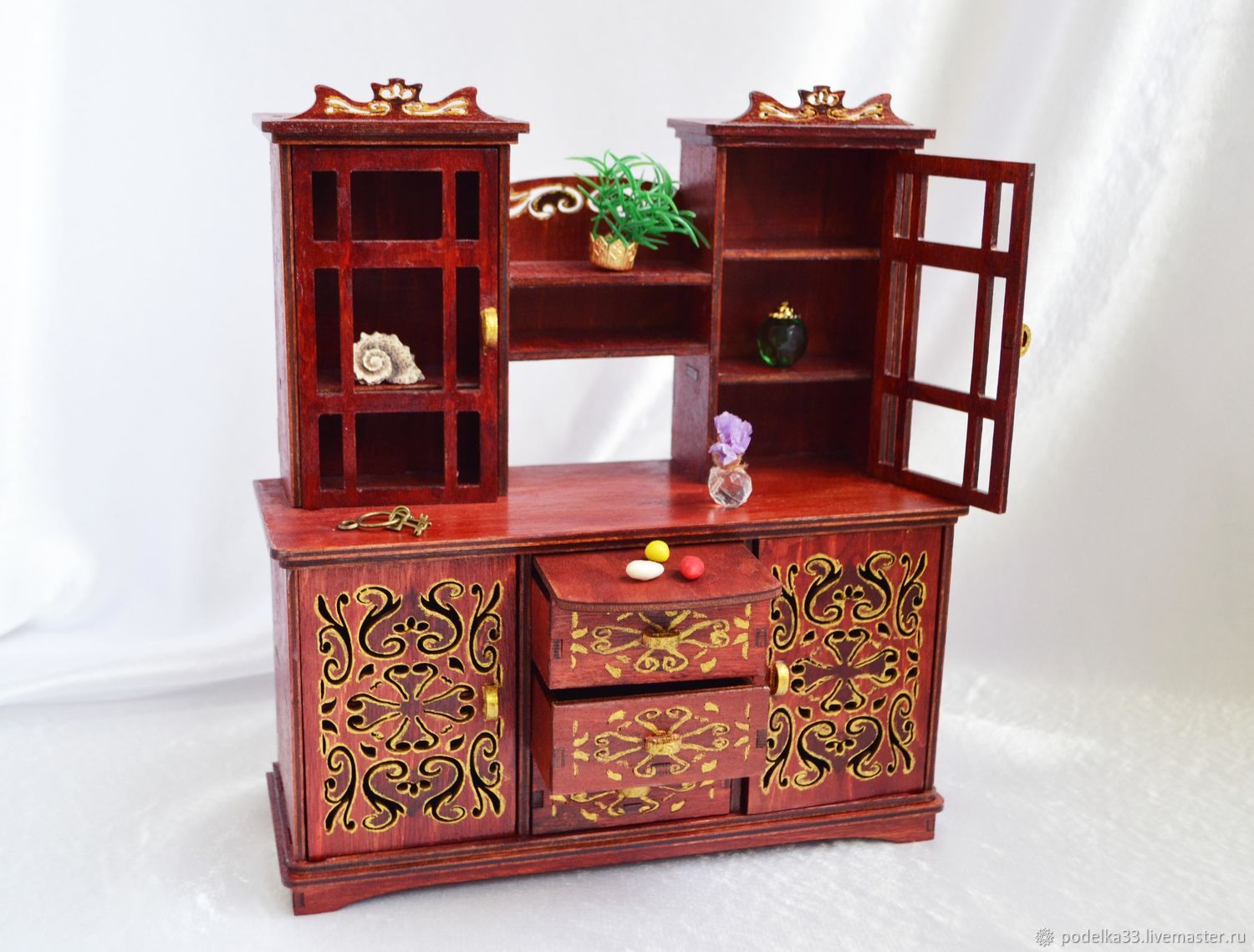 A sideboard from a set of Furniture for dolls, Doll furniture, Moscow,  Фото №1