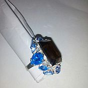 Украшения handmade. Livemaster - original item Ring Rauch Topaz. Handmade.