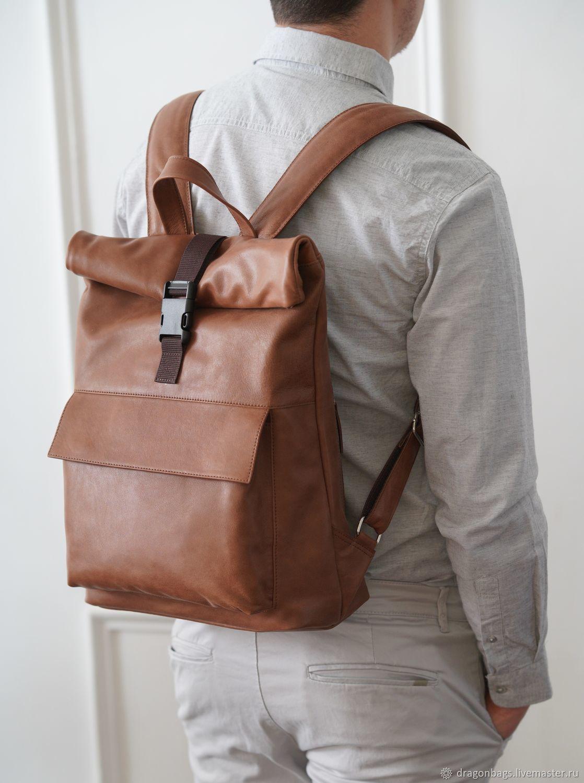 725ca1284299 Рюкзак кожаный мужской