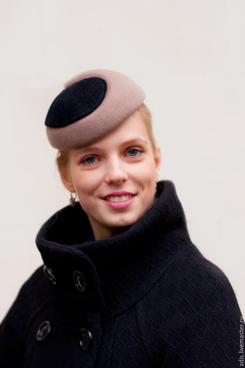 Hat 'Yin Yang', Hats1, Moscow,  Фото №1