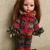 Одежда для кукол ручной работы. Ярмарка Мастеров - ручная работа Паола Рейна комбинезон вязанный. Handmade.