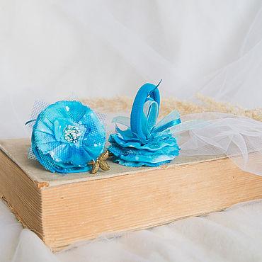 Украшения ручной работы. Ярмарка Мастеров - ручная работа Резинки для волос Морские. Handmade.