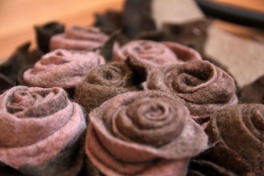 """Женские сумки ручной работы. Ярмарка Мастеров - ручная работа. Купить сумка """"Choco Rose"""". Handmade. Бежевый"""
