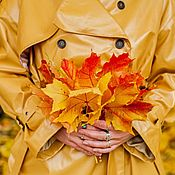 Одежда handmade. Livemaster - original item Trench coat women`s Autumn. Handmade.