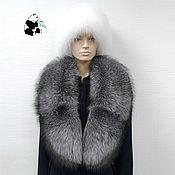 Аксессуары handmade. Livemaster - original item Fur detachable collar boa Fox fur.TC-305. Handmade.
