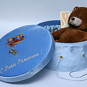 Сувениры и подарки handmade. Livemaster - original item Gift box for boy. Handmade.