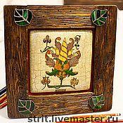 Картины и панно ручной работы. Ярмарка Мастеров - ручная работа Неизвестный фрукт. Handmade.