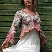 """Пиджаки ручной работы. Ярмарка Мастеров - ручная работа Жакет в стиле """"Бохо"""". Handmade."""