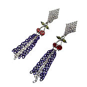 Украшения handmade. Livemaster - original item Earrings Cherry. Handmade.