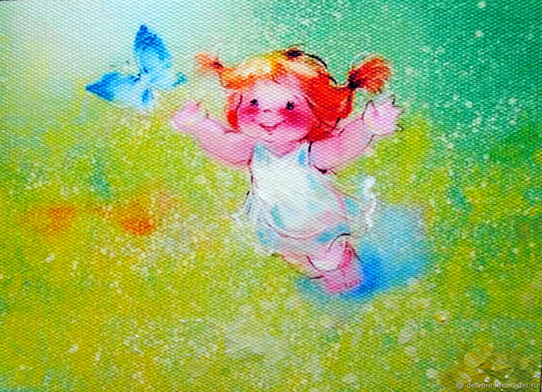 "Картина маслом ""Голубая мечта"", Картины, Таганрог,  Фото №1"