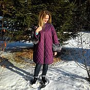 Одежда handmade. Livemaster - original item Winter jacket, coat
