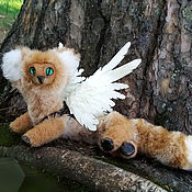 Мягкие игрушки ручной работы. Ярмарка Мастеров - ручная работа Лесной дракон Акира. Handmade.