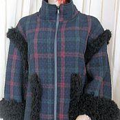 Одежда ручной работы. Ярмарка Мастеров - ручная работа Куртка с шапочкой. Handmade.