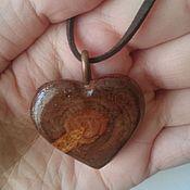 Подвеска ручной работы. Ярмарка Мастеров - ручная работа Кулон-сердечко. Handmade.