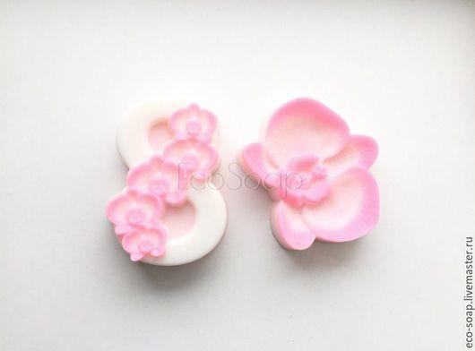 `8 МАРТА. Орхидея` . Набор мыла  ручной работы. Подарок на 8 марта. Handmade.
