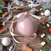 Косметика ручной работы handmade. Livemaster - original item A bath bomb in a balloon. Handmade.