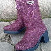 """Обувь ручной работы. Ярмарка Мастеров - ручная работа Валенки сапожки """"Ренклод"""". Handmade."""